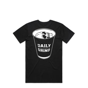 Daily Grind Skull Black T-Shirt | Hard Grind