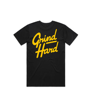 Grind Hard Black T-Shirt | Hard Grind