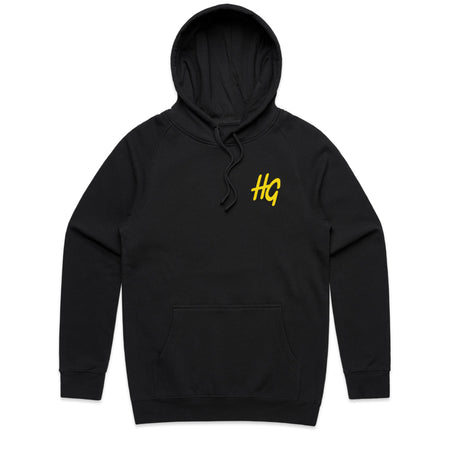 Can't Cheat The Grind Black Hoodie | Hard Grind