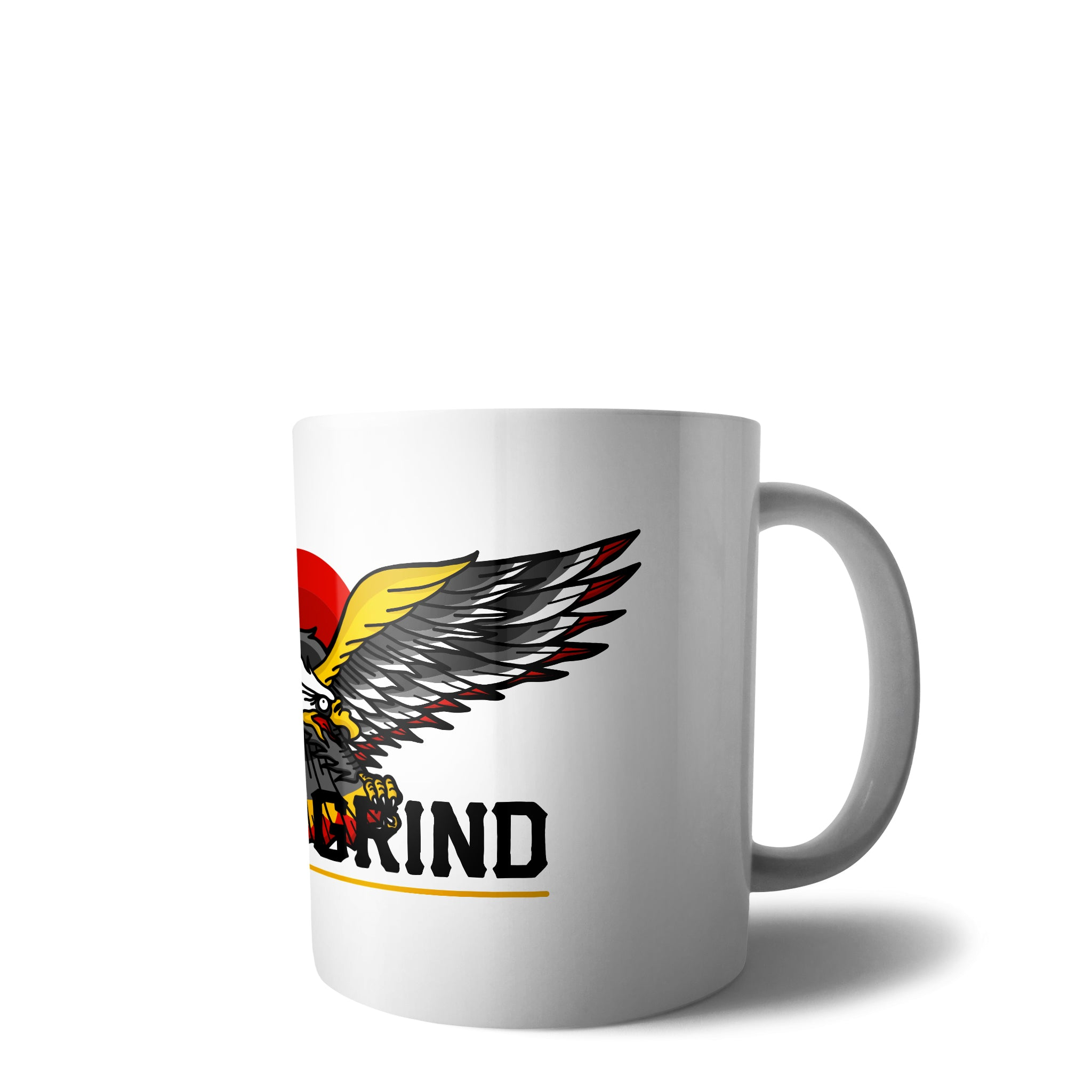 Daily Grind Eagle Mug | Hard Grind