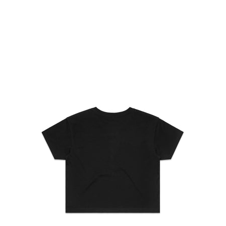 Grind Hard Black Crop T-Shirt | Hard Grind