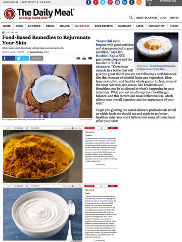 Food-Based Remedies to Rejuvenate Your Skin