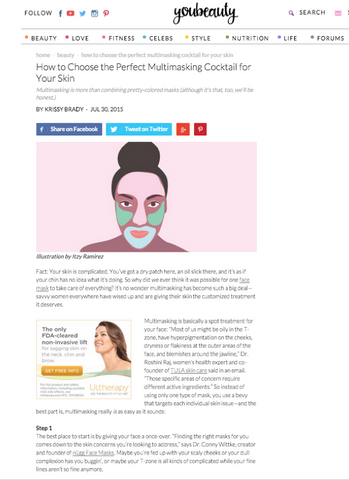 How to Choose the Perfect Multimasking Cocktail for Your Skin - YouBeauty