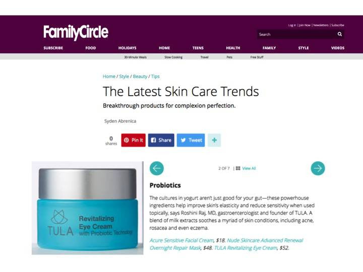 The Latest Skin Care Trends - Family Circle