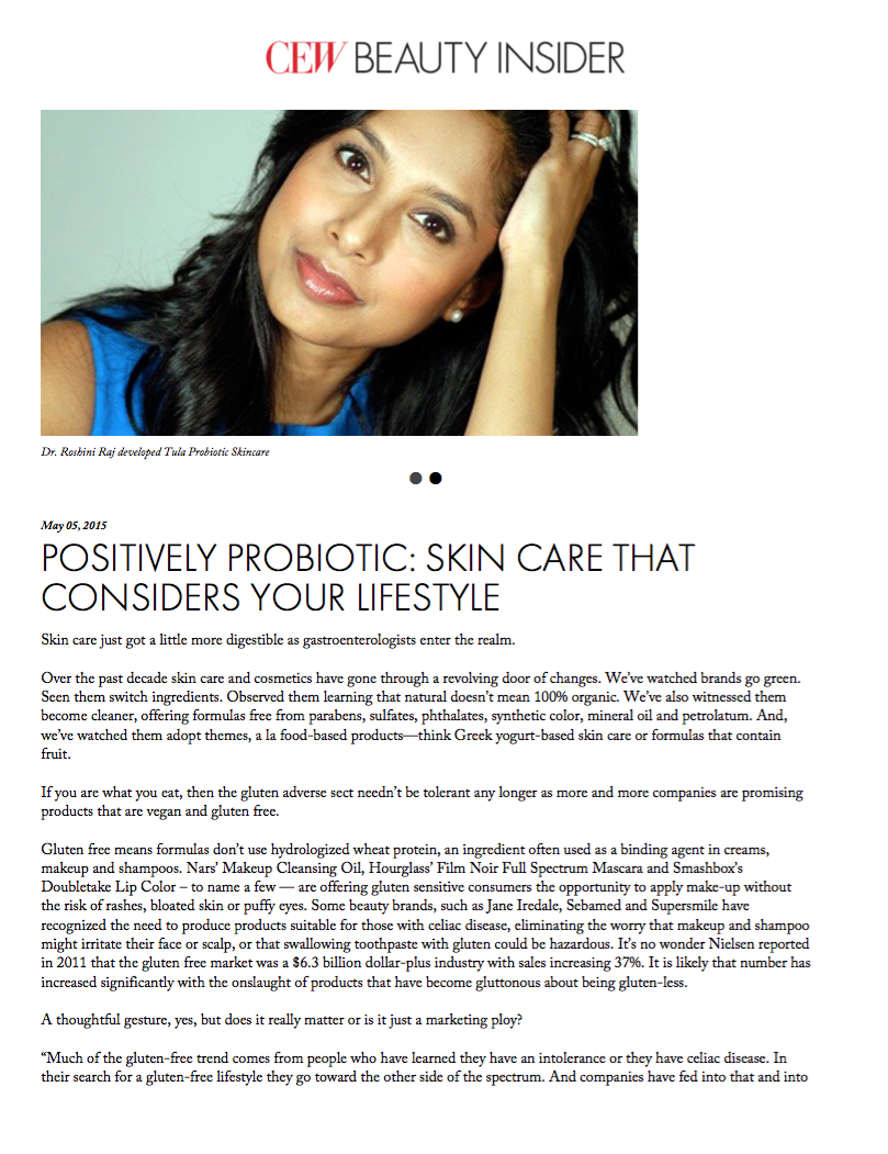 Positively Probiotic: Skin Care That Considers Your Lifestyle