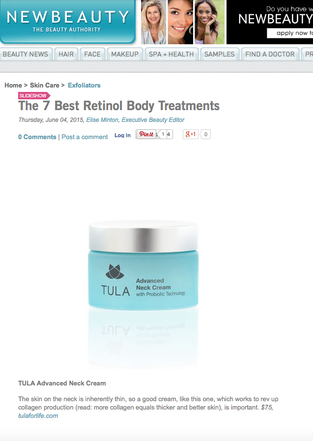 The 7 Best Retinol Body Treatments - NewBeauty