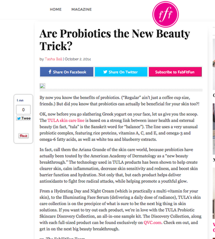 Are Probiotics the New Beauty Trick? - Fab Fit Fun