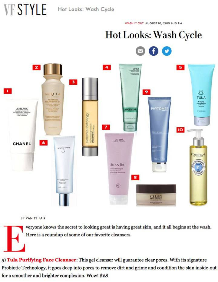 Hot Looks: Wash Cycle - Vanity Fair