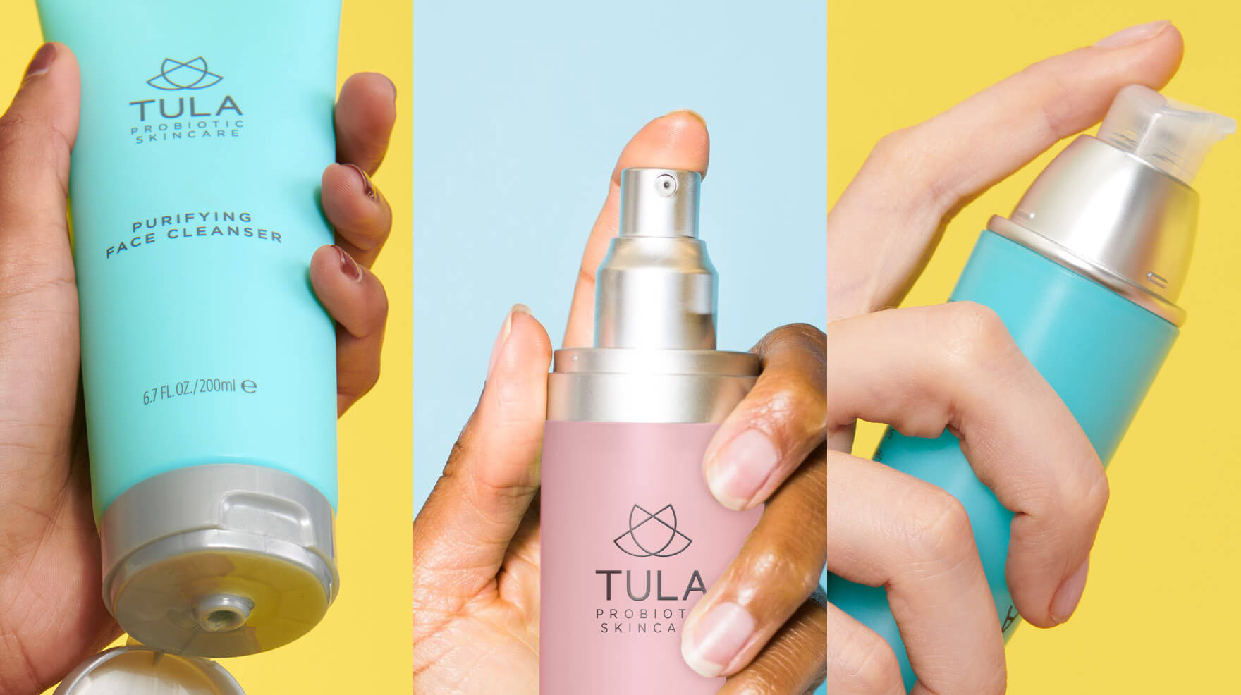TULA acne clearing kit how to use
