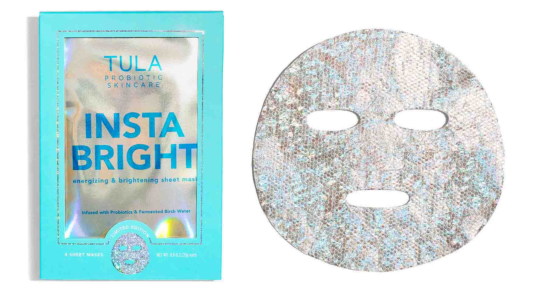 TULA insta bright mask - how to use