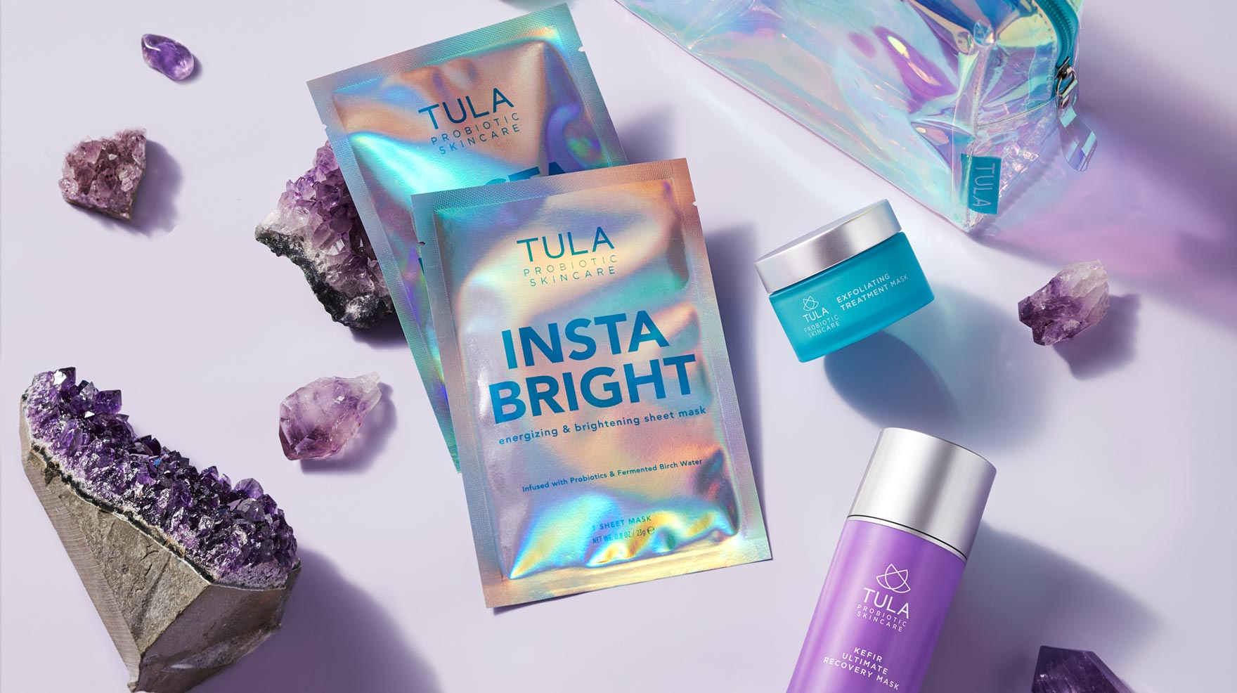 tula skincare holiday kit - mask kit - how to use