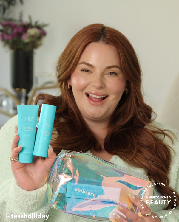 tess holliday's exfoliating skincare kit