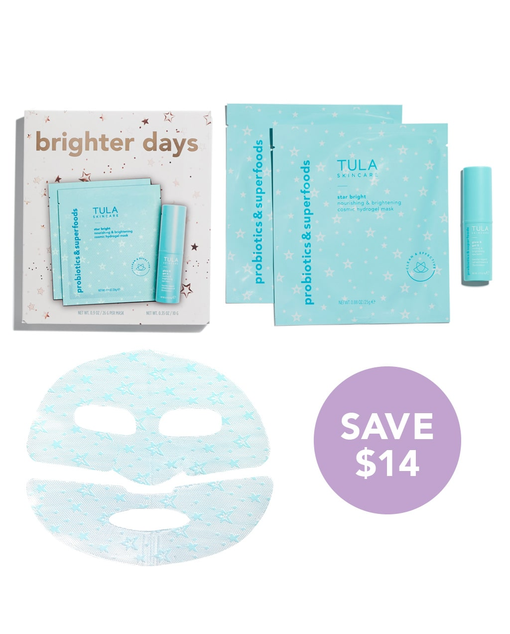 brighter days 3 piece stocking stuffer