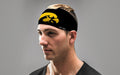 UNIVERSITY OF IOWA: TIGER HAWK BLACK HEADBAND