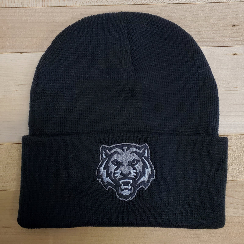 ADM Tigers Black Stocking Hat
