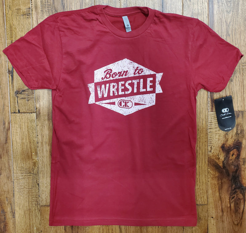 Cliff Keen T-Shirt - Born to Wrestle