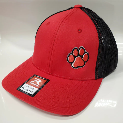 ADM Tigers Flexfit Mesh - Red/Black