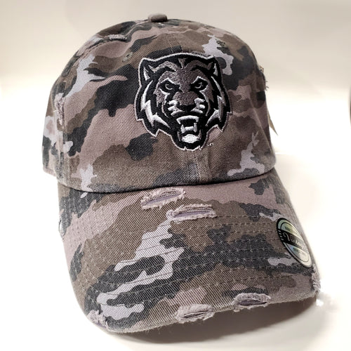 ADM Tigers Distressed Adjustable Hat