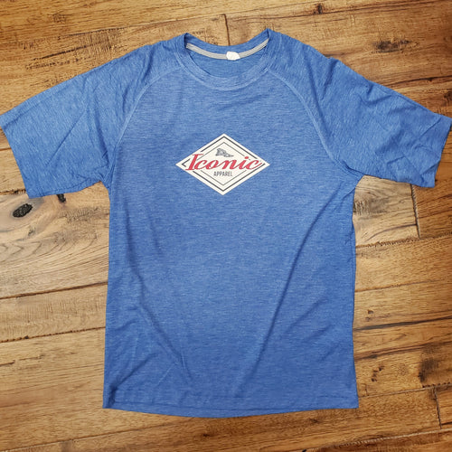 Iconic Tri-Blend Wicking T-Shirt