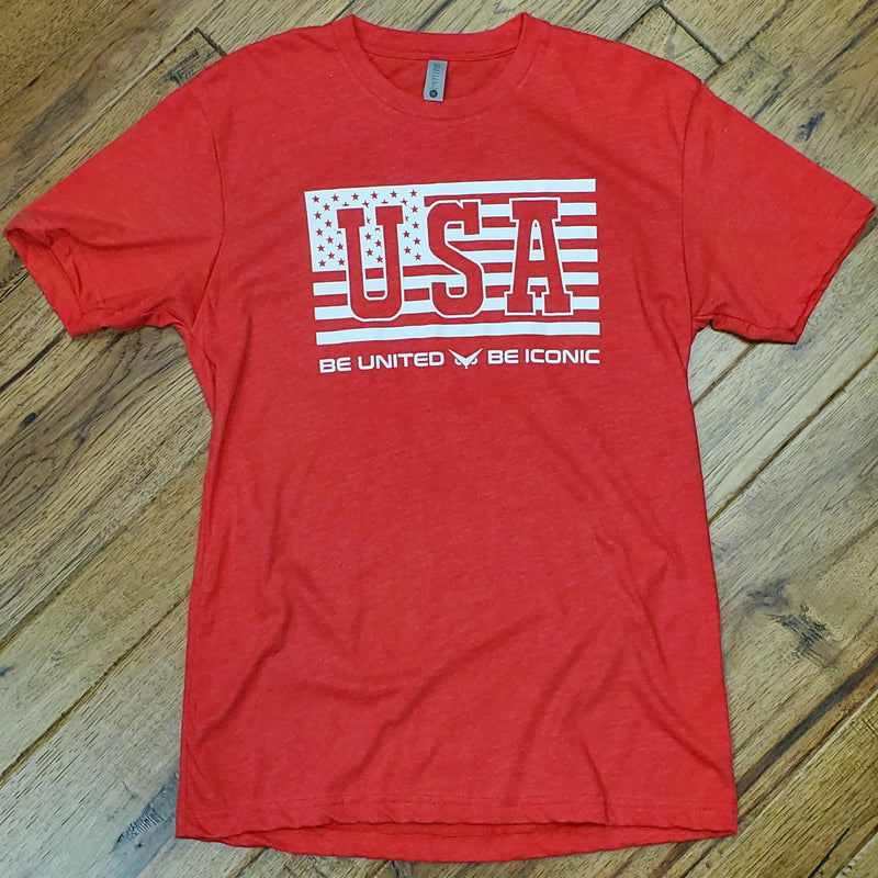 Be United Iconic Tee (Red)