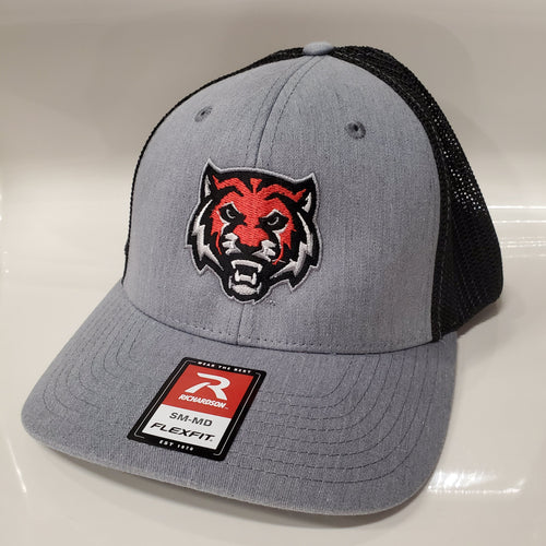ADM Tigers Flex Fit Hat - Heather