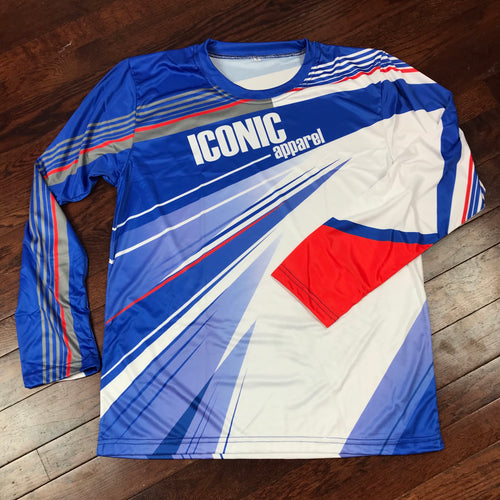 Iconic Long Sleeve Drifit Jersey