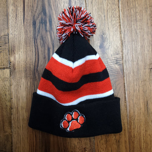 ADM Paw Pom Stocking Hat