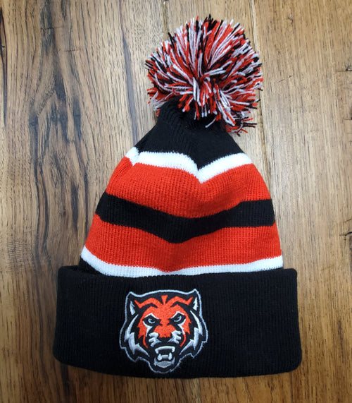 ADM Tigers Pom Stocking Hat