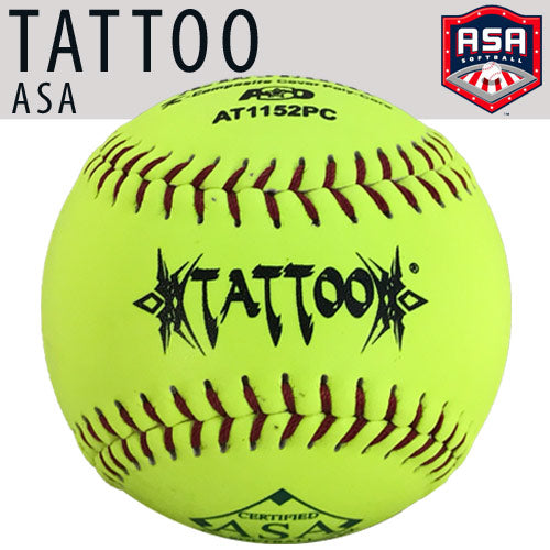 "TATTOO 11"" (52 COR/300 LBS) ASA Softball"