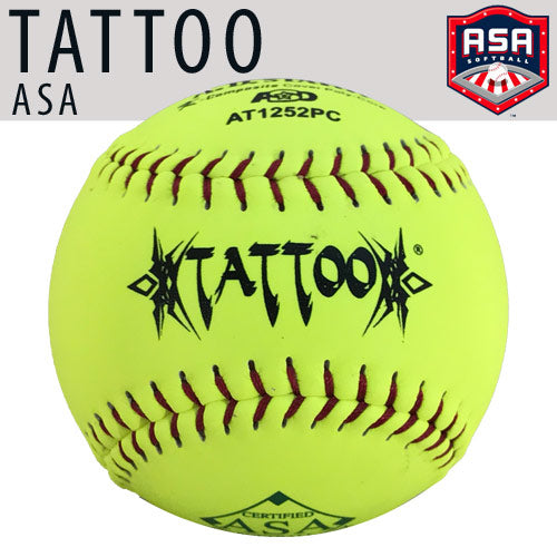 "TATTOO 12"" (52 COR/300 LBS) ASA Softball"