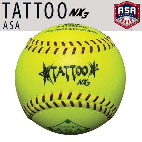 "TATTOO NX3 11"" (52 COR/300 LBS) ASA Softball"
