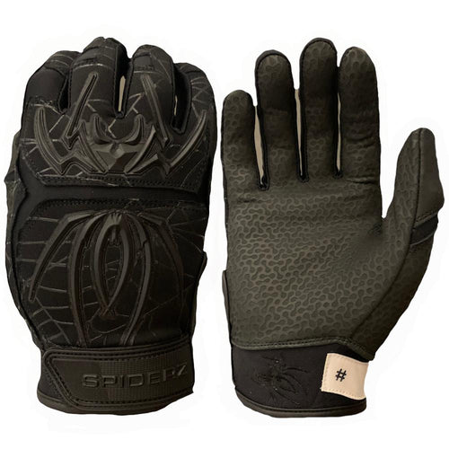 SPIDERZ ENDITE BATTING GLOVES - BLACKOUT 2020