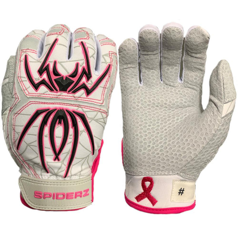 SPIDERZ ENDITE BATTING GLOVES - BREAST CANCER AWARENESS 2020