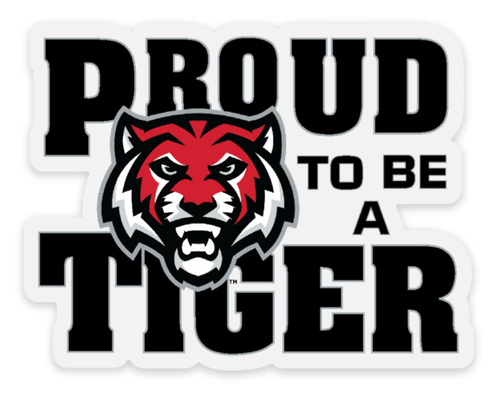 ADM Tigers (Proud) Transparent Adhesive Sticker