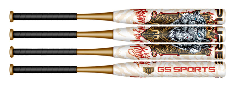 "2020 Pure  Return of the King 12"" 2 Piece Composite Endload USSSA Slowpitch Bat - GS Sports"