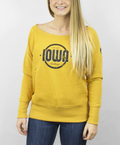Rae Old Gold Iowa Sweatshirt