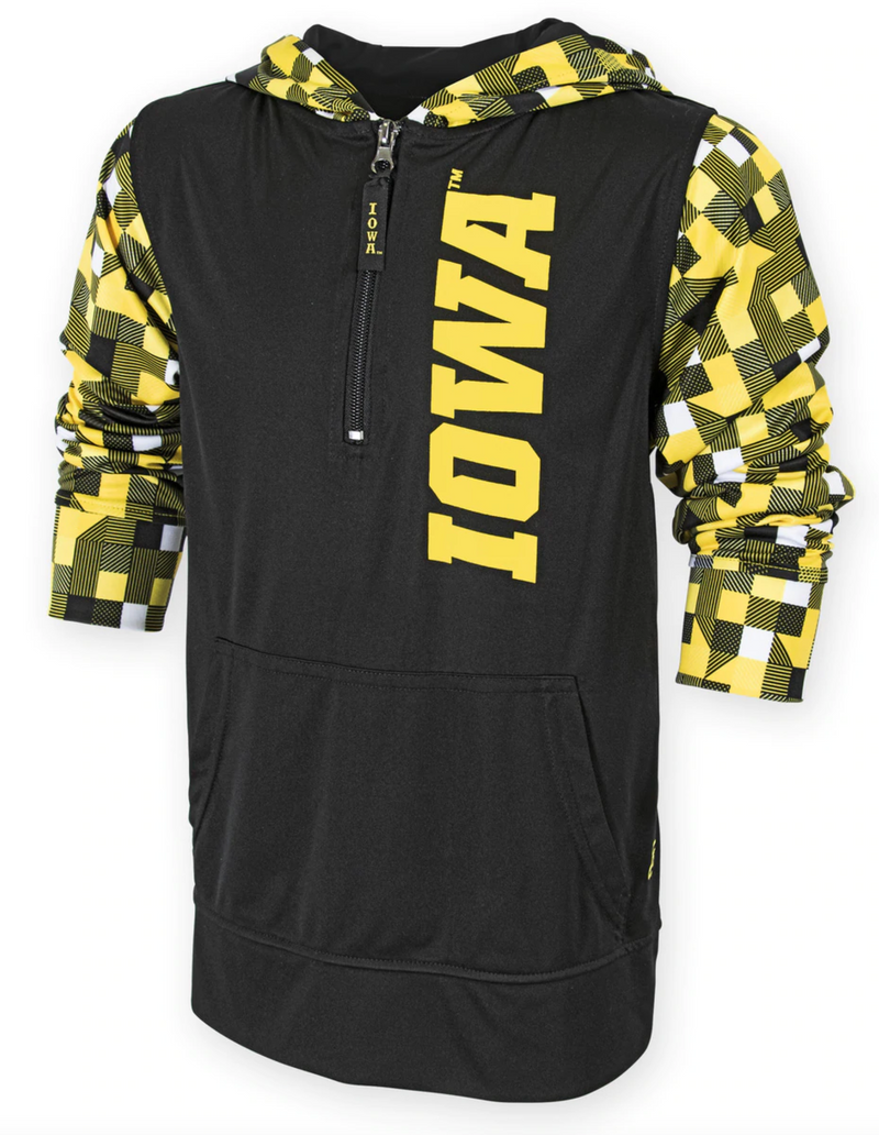 Youth Rucker 1/4 Zip Iowa Pullover