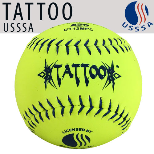 "TATTOO 12"" (Classic M) USSSA Softball"