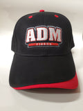 ADM Tigers Adjustable - Black/Red w/ADM logo