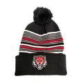 ADM Tigers Multi-Stripe Pom Stocking Hat