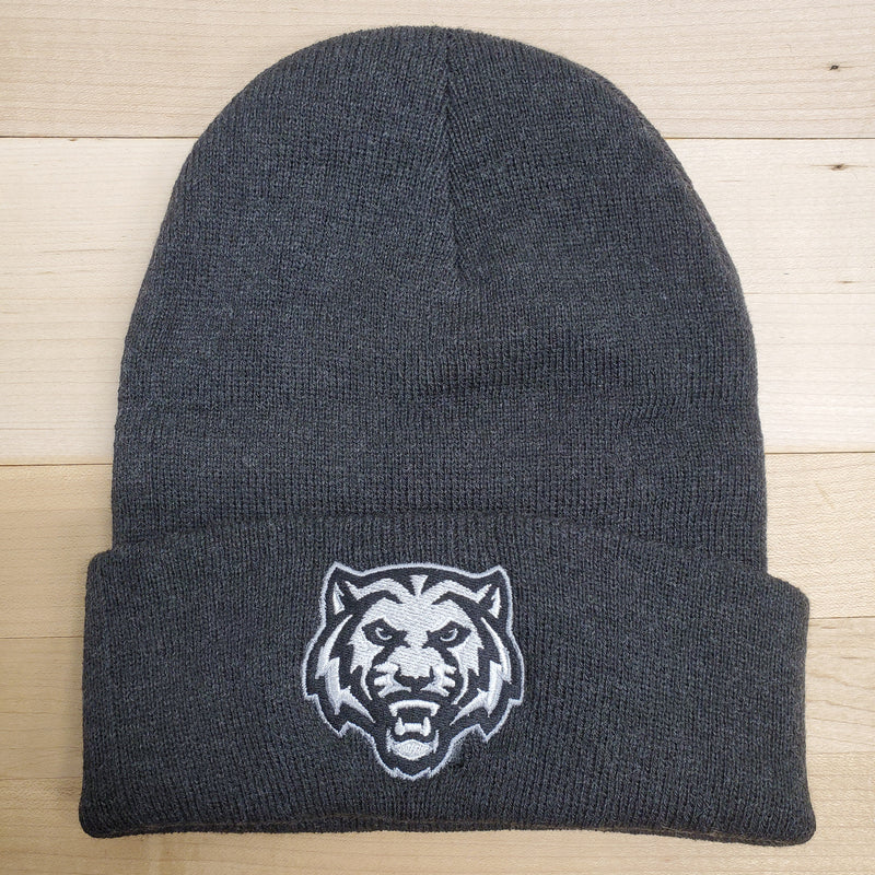 ADM Tigers Charcoal Stocking Hat
