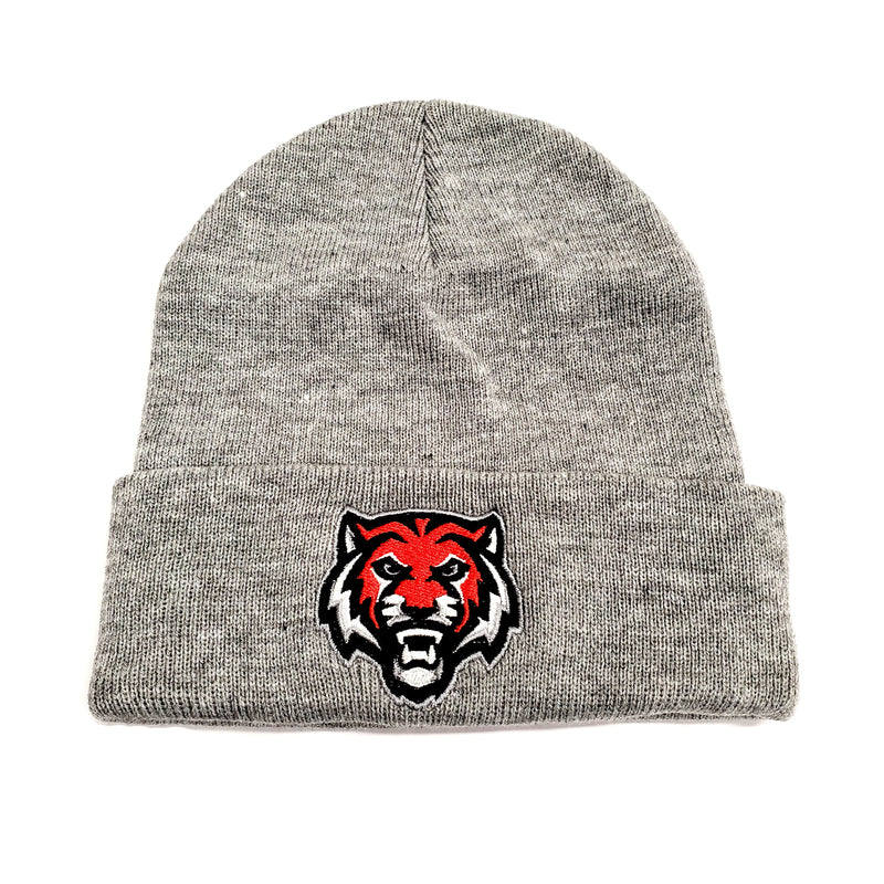 ADM Tigers Grey Stocking Hat