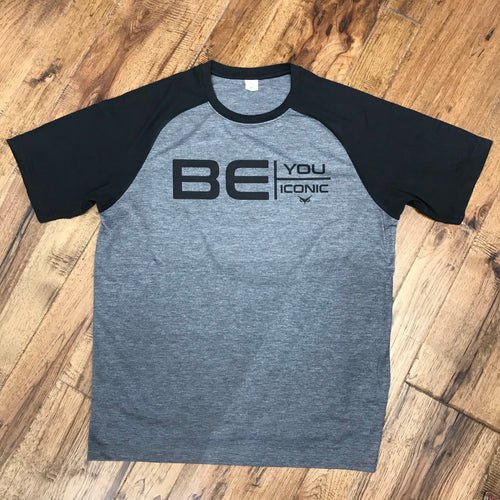 Be You Be Iconic Tri-Blend Raglan Tee