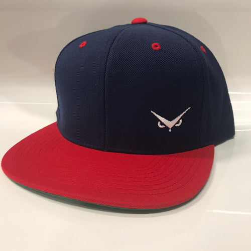 Iconic SnapBack - Navy/Red - White