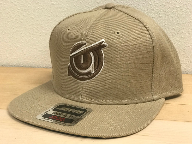 Iconic SnapBack - Khaki - Brown