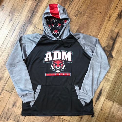 ADM Tigers Performance Fleece Hoodie