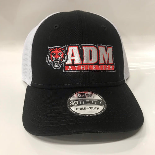 ADM Athletics Hat- Black/White