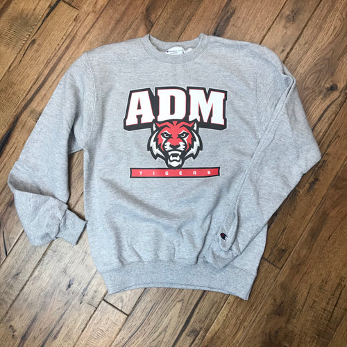 ADM Tigers Champion® Crewneck Sweatshirt