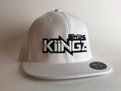 Swiing Kiingz Flatbill version 2 - White
