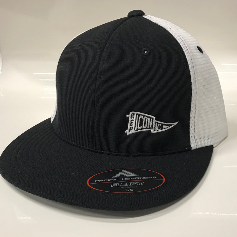 Iconic Performance Trucker Hat - Black/White